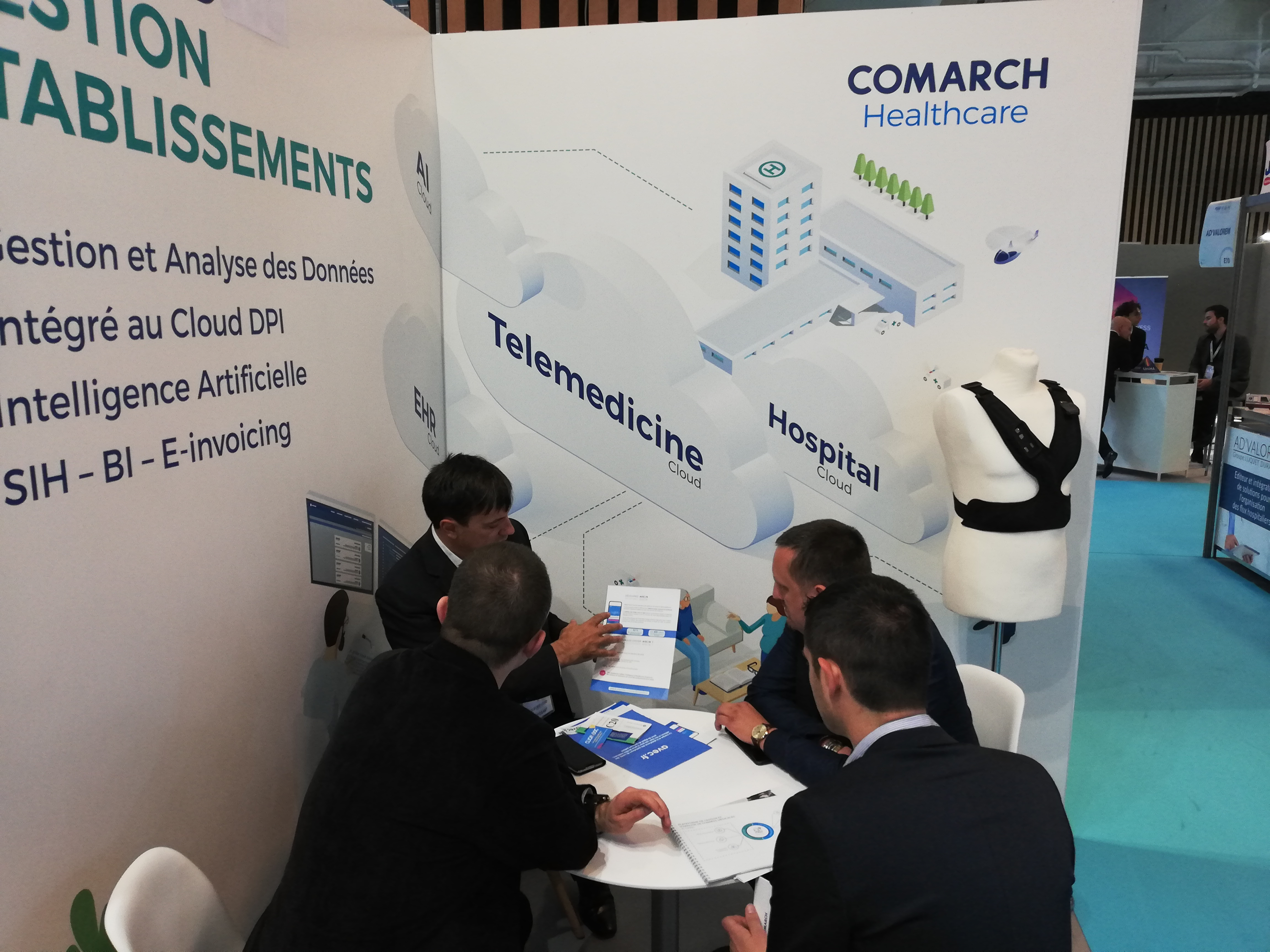 meeting stand comarch healthcare