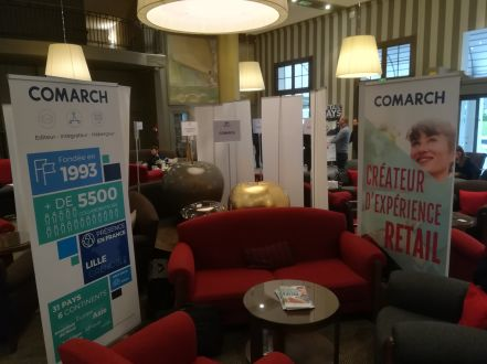 stand comarch salon retail days deauville