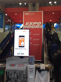Entrée Big Show 2019 escalator