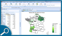Comarch ERP Business Intelligence - Géolocalisation des ventes